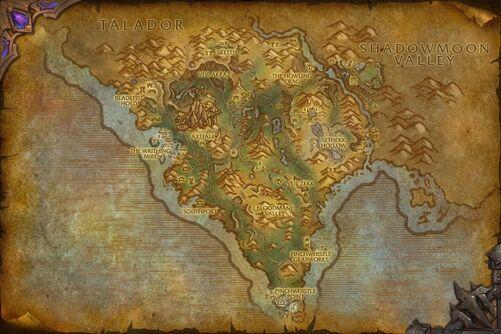 Spires of Arak map