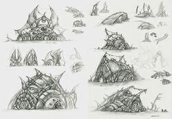 Draenei Structures concept.jpg