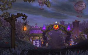 Darkmoon Faire on the Darkmoon Island