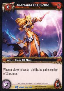 Siaranna the Fickle TCG Card.jpg