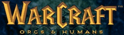 Warcraft: Orcs & Humans in-game logo