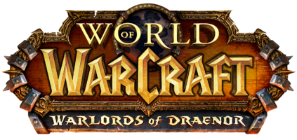 World of Warcraft: Warlords of Draenor logo