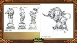 Pandaria Animal Spirits Statues Concept.jpg