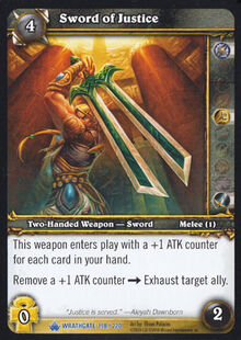 Sword of Justice TCG Card.jpg