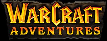 Warcraft Adventures logo series