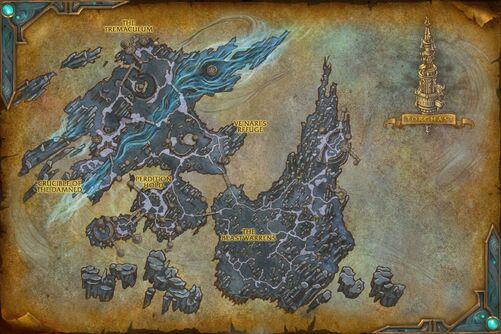 Maw map