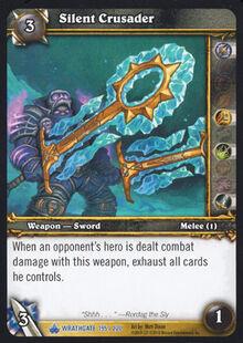 Silent Crusader TCG Card.jpg
