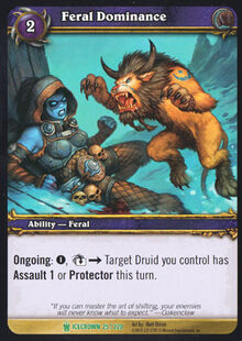 Feral Dominance TCG Card.jpg