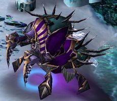 Anub Arak Warcraft Iii Wowpedia Your Wiki Guide To The World Of Warcraft He will use both abilities whenever he is after some time anub'arak will burrow underground and enter phase 2. anub arak warcraft iii wowpedia