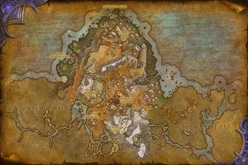 Highmountain map