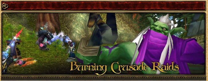 2004 Game Guide's Banner for the Burning Crusade Raids