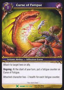 Curse of Fatigue TCG Card.jpg