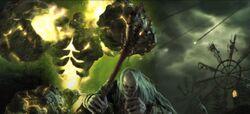 Infernal with undead warlock - WoWcinematic.jpg
