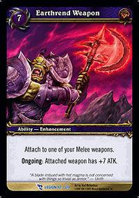 Earthrend Weapon TCG Card.jpg