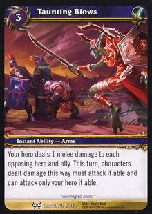 Taunting Blows TCG Card.jpg