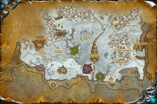 Dragonblight map