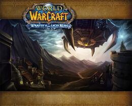 Wrath of the Lich King Acherus loading screen.jpg