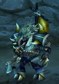 Image of Withered Warrior