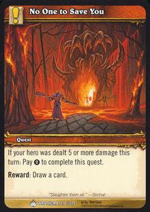 No One to Save You TCG Card.jpg