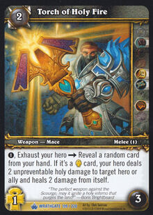 Torch of Holy Fire TCG Card.jpg