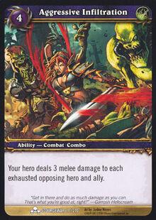 Aggressive Infiltration TCG Card.jpg
