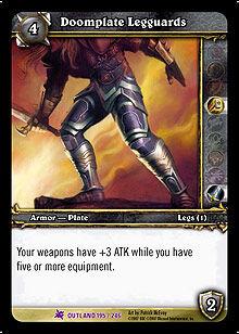 Doomplate Legguards TCG Card.jpg
