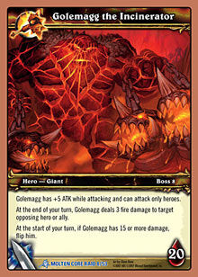 Golemagg the Incinerator TCG card.jpg