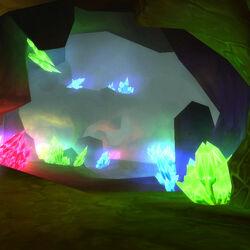 Power crystals