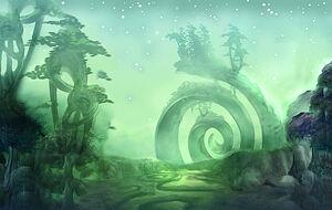 Concept artwork of the Emerald Dream