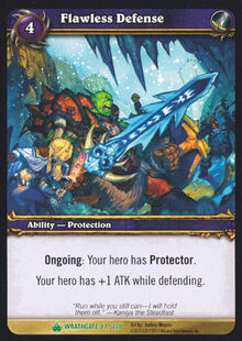 Flawless Defense TCG Card.jpg