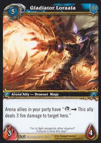 Gladiator Loraala TCG Card.jpg