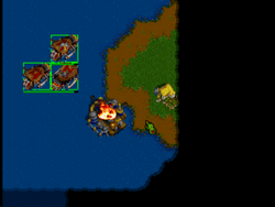 Warcraft2Console PlayStation Screen4.png