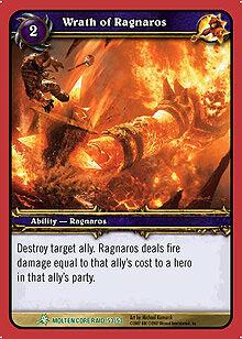 Wrath of Ragnaros TCG card.jpg