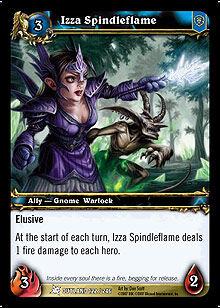 Izza Spindleflame TCG Card.jpg