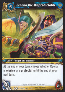 Raena the Unpredictable TCG Card.jpg