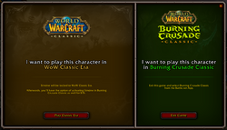 Classic expansion choice - Classic Era.png