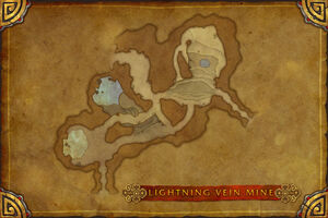 Lightning Vein Mine map