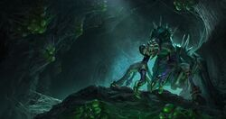 Warcraft III Reforged - Loading Screen Crypt Fiend.jpg