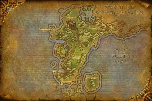 Cape of Stranglethorn map