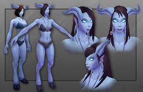 Model updates - draenei female 2.jpg