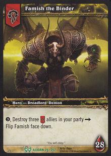 Famish the Binder TCG Card.jpg