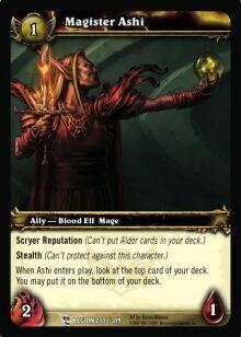 Magister Ashi TCG Card.jpg