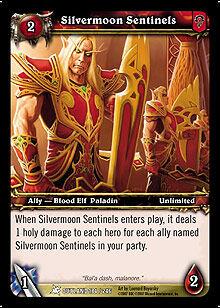 Silvermoon Sentinels TCG Card.jpg