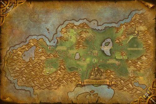 Tirisfal Glades map