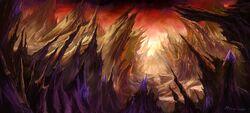Blade's Edge Mountains Concept Art Peter Lee 3.jpg