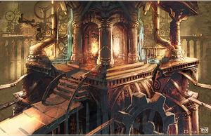 Concept artwork of Ulduar