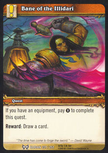 Bane of the Illidari TCG Card.jpg