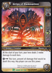 Grips of Damnation TCG Card.jpg