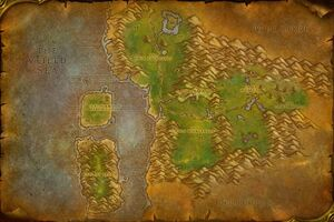 Map of Feralas