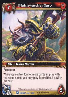 Plainswatcher Taro TCG Card FoH.jpg